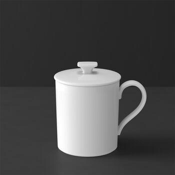 MetroChic blanc Gifts Tazza con coperchio 11,5x8,5x11cm