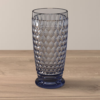 Boston Coloured Vaso largo Blue