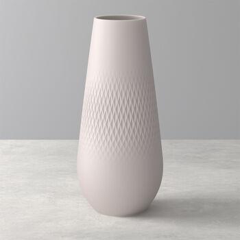 Manufacture Collier vaso, 11,5x26cm, carré, beige