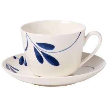 Vieux Luxembourg Brindille Tazza caffè/tè con piattino 2pz.