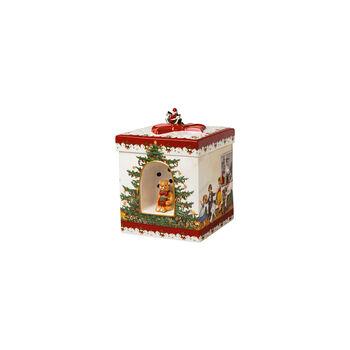 Christmas Toys Caja regalo gr. cuadr., 2021 16x16x21,5cm