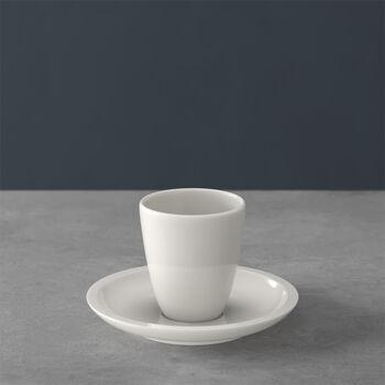 Artesano Original taza de moca/espresso sin asa con platillo 2 piezas
