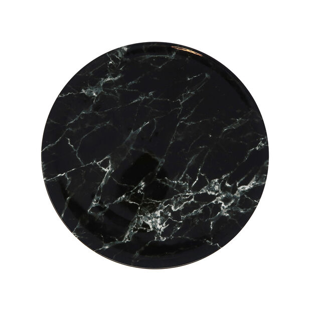 Marmory piatto piano Black, 16x16x2cm, , large