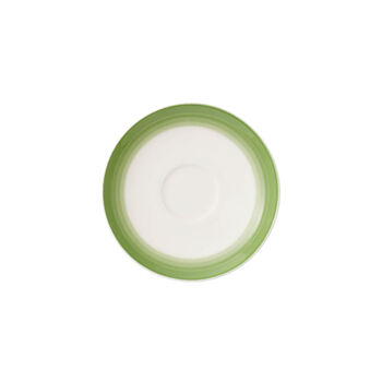 Colourful Life Green Apple piattino tazza da espresso/moka