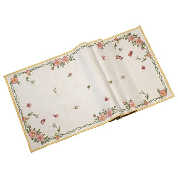 Spring Fantasy camino de tapiz para mesa New Flowers XL 49 x 143cm, , large