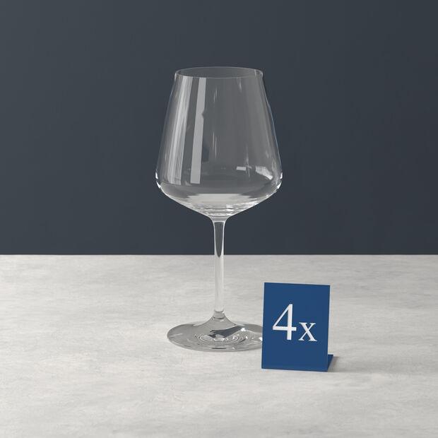 Ovid bicchiere da vino rosso set da 4, , large