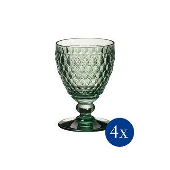 Boston Coloured bicchiere da vino bianco, 4 pezzi, ´verde