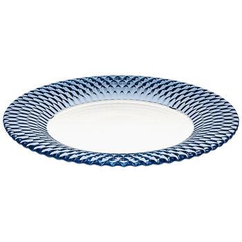 Boston Coloured plato de presentación, azul, 32 cm