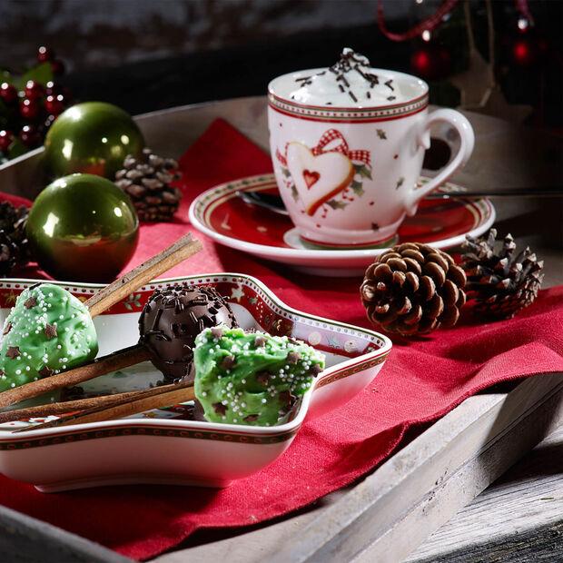 Winter Bakery Delight plato taza de café, , large