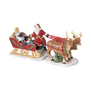 Christmas Toys slitta Nostalgia, 36 x 14 x 17 cm