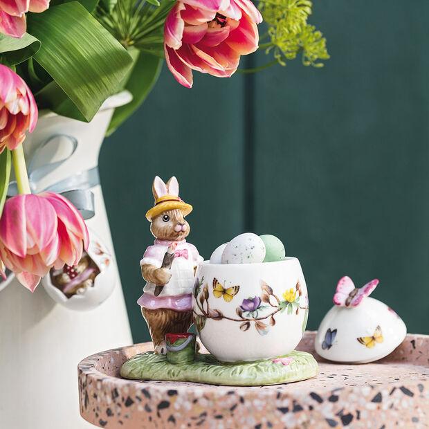Bunny Tales barattolo uovo di Pasqua Anna, 11 x 6,5 x 10 cm, multicolore, , large