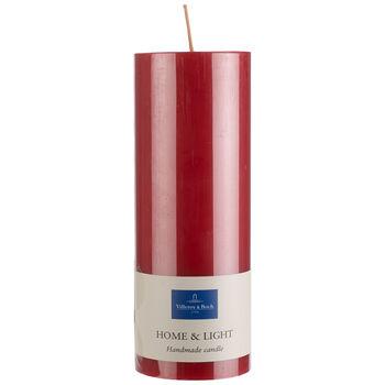 Essentials Candela Rosso pillar 19cm