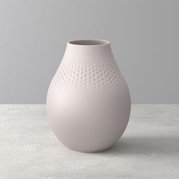 Manufacture Collier vaso, 16x20cm, perla, beige