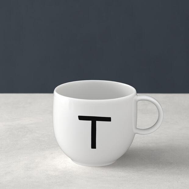 Letters Tazze T 13x10x8cm, , large