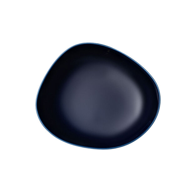 Organic Dark Blue piatto fondo, blu scuro, 20 cm, , large