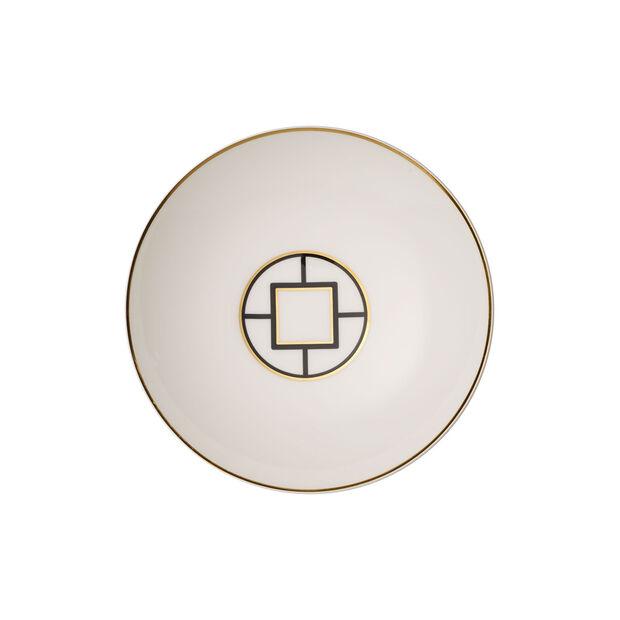 MetroChic piatto fondo, diametro 20 cm, profondità 5 cm, bianco-nero-oro, , large