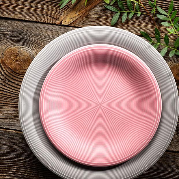Color Loop Rose piatto da colazione 21x21x2cm, , large