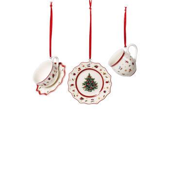 Toy's Delight Decoration Ornamenti Servizio da tavola 3 pz. 6,3cm