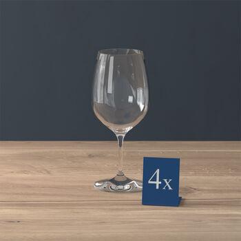 Entrée copa de vino tinto, 4 unidades