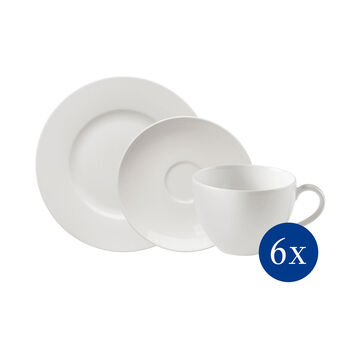 vivo   Villeroy & Boch Group Basic White Set da Caffè 18pz