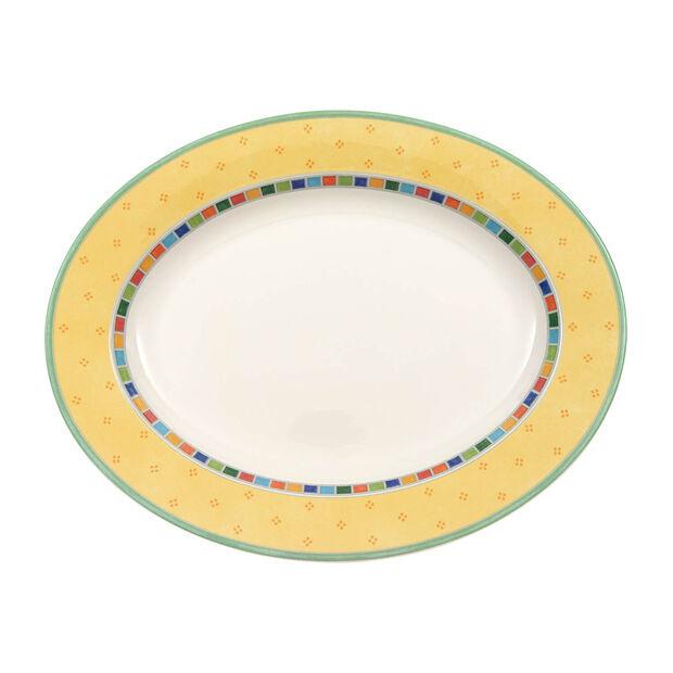 Twist Alea Limone piatto ovale 41 cm, , large