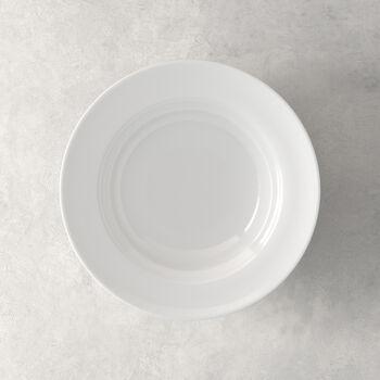 NEO White plato hondo de 23 x 23 x 6 cm