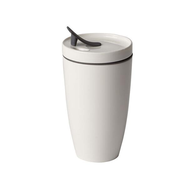 Tazza mug To Go, 350 ml, bianco, , large