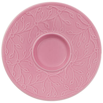 Caffè Club Floral Touch of Rose piattino per tazza da espresso/moka