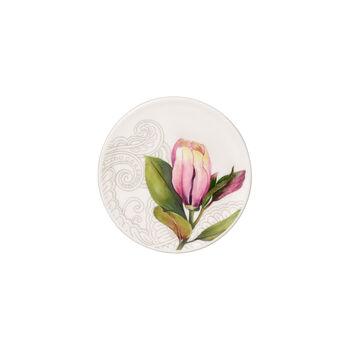 Quinsai Garden salvamanteles, diámetro de 11 cm, blanco/colorido