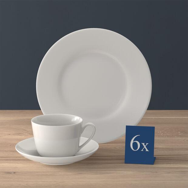 Twist White set de café, 18 piezas, para 6 personas, , large