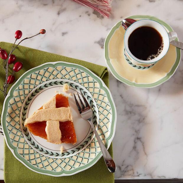 French Garden Orange piatto da colazione, , large
