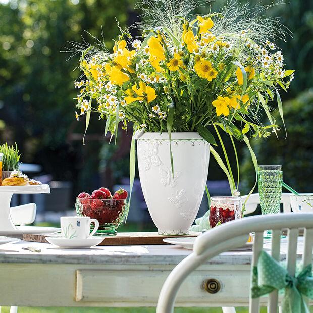 Colourful Spring vaso alto, bianco/verde, , large