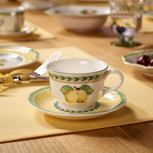 French Garden Fleurence Piattino tazza caffè/tè 15cm, , large