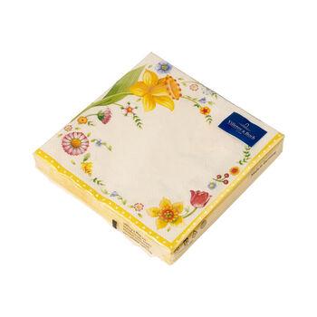 Easter Accessories Spring Fantasy Tovaglioli motivo Narcisi 33 x 33 cm, 20 pezzi