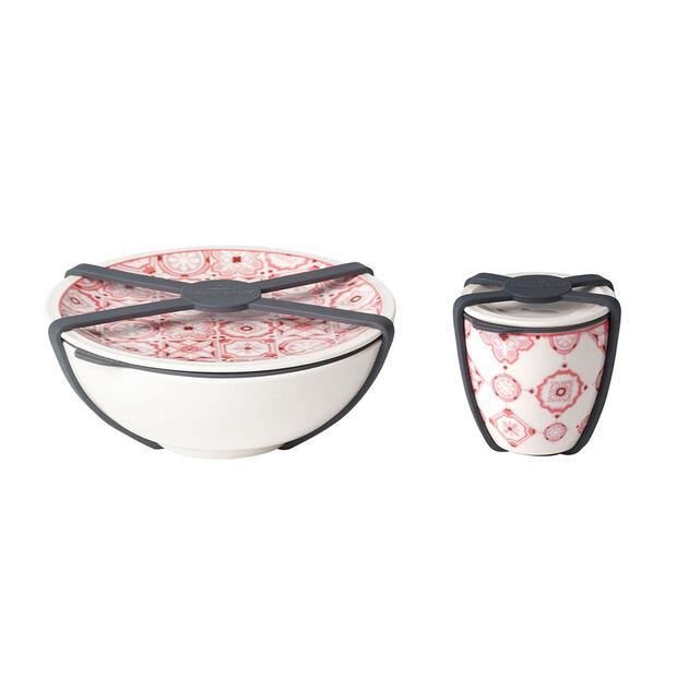 like.by Villeroy & Boch To Go set da insalata, 2 pezzi, Coral, , large