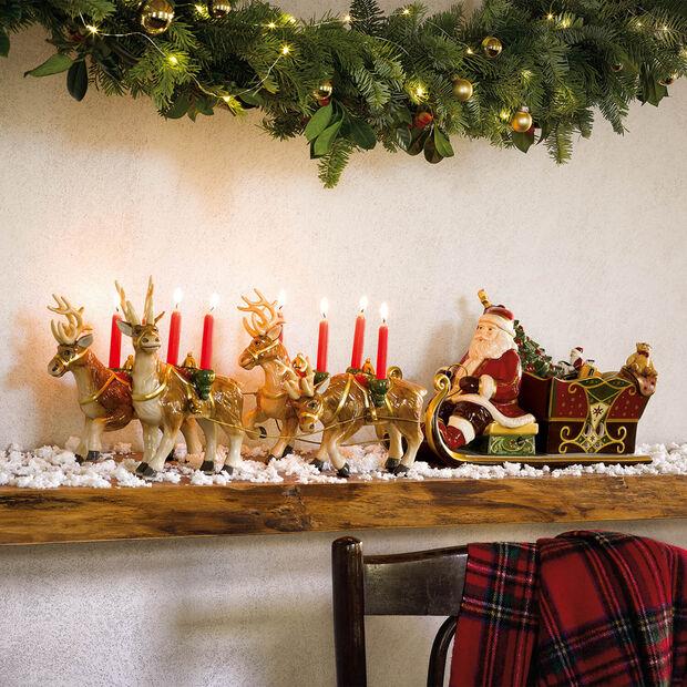 Christmas Toys Memory Babbo Natale sulla slitta, , large