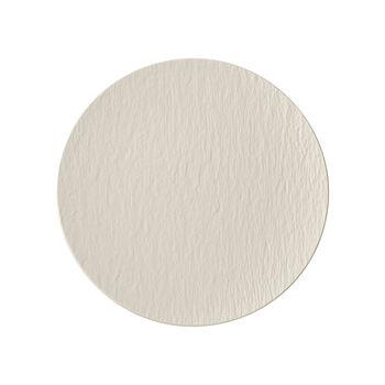 Manufacture Rock blanc Piatto universale coupe 25x25x2,8cm