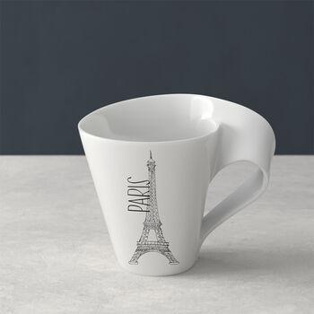 Modern Cities taza grande de café, Paris, 300ml
