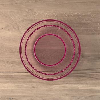 Boston Coloured piatto da insalata e da dessert, rosa, 21 cm