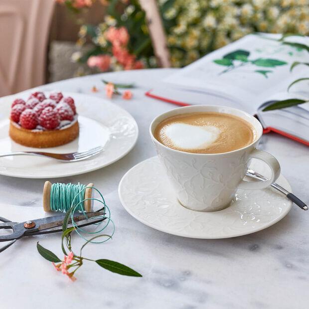 Caffè Club Floral Touch Piat.taz. caffè latte/piccolo piatto, , large