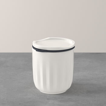 To Go & To Stay vaso, con tapa, 300ml, blanco