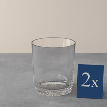 like.by Villeroy & Boch it's my match set di bicchieri da acqua, trasparente, 9 x 10 cm, 2 pezzi