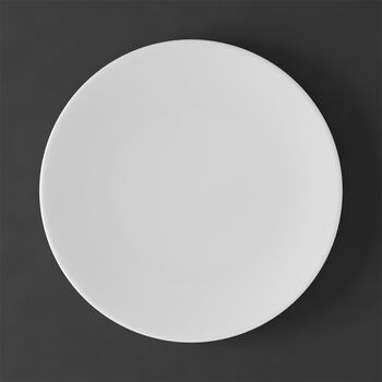 MetroChic blanc Plato llano 27x27x2cm