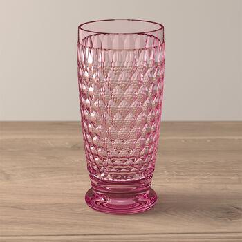 Boston Coloured Vaso largo Rose