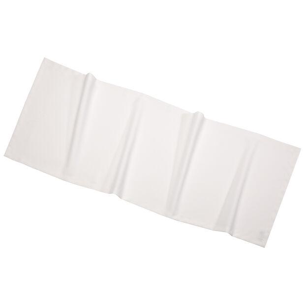Textil Uni TREND Cam.de mesa col.crema 50x140cm, , large