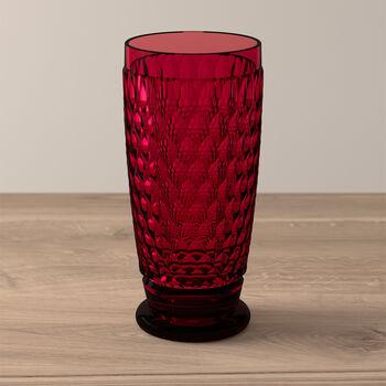 Boston Coloured Vaso largo Red