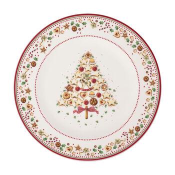 Winter Bakery Delight plato de presentación, rojo/varios colores