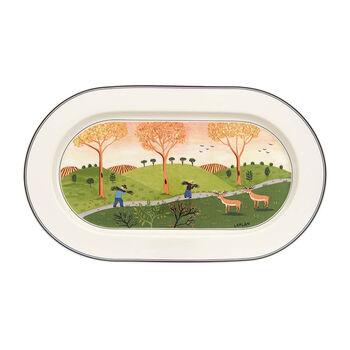 Design Naif fuente ovalada de 34 cm