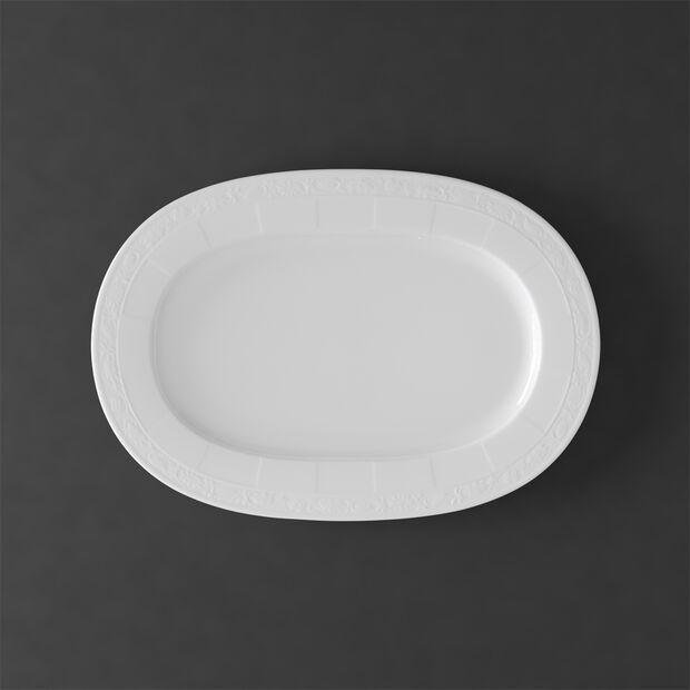 White Pearl piatto ovale 41 cm, , large