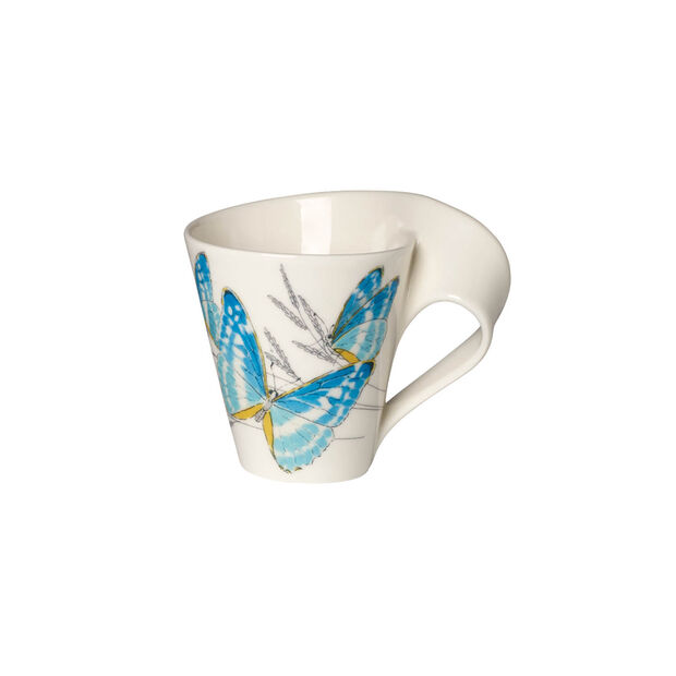 NewWave Caffè Morpho cypris Bicchiere con manico(imballaggio regalo), , large